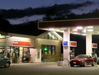 Non Branded Gas Station With Property