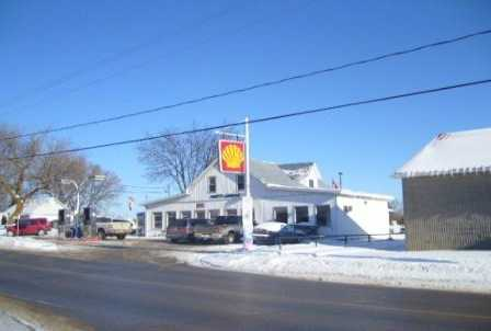 Shell Gas Station, Canada Post Outlet Garrage, 2 Bedroom Apartment Rented